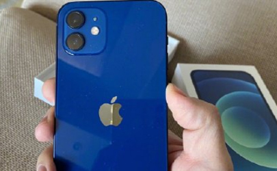 iPhone12蓝色开箱评测