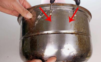 不銹鋼鍋底油垢怎么去除