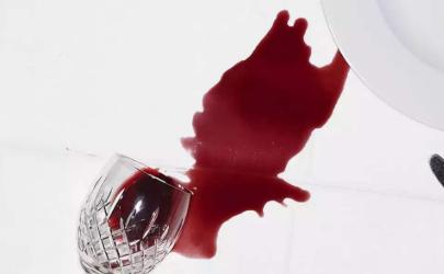 真絲上面的紅酒怎么去除