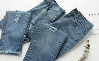 牛仔裤会缩水还是越洗越松