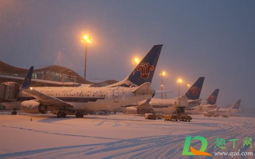 暴雪会影响飞机出行吗1