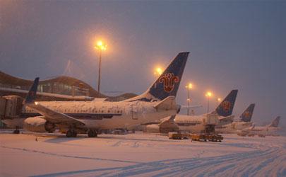 暴雪会影响飞机出行吗