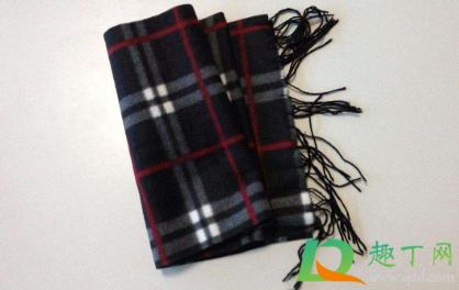 围巾上的浮毛怎么处理4