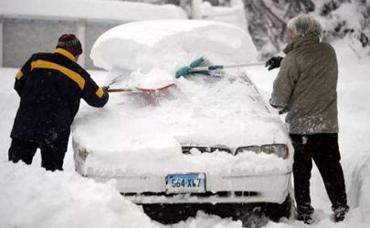 车上积雪可以撒盐吗