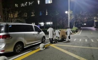 上海南汇中心医院封锁真的假的