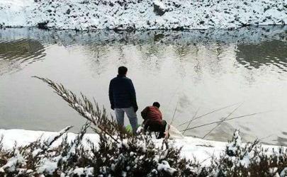 下雪天钓鱼钓深水还是钓浅水