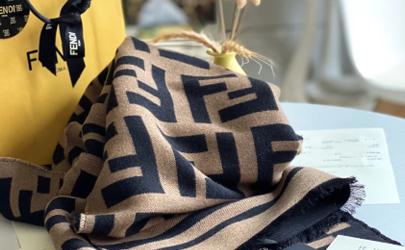 芬迪围巾一千多的是正品吗