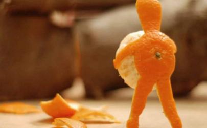 橘子皮浇花怎么弄