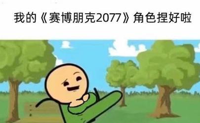 賽博朋克2077牛子表情包搞笑版