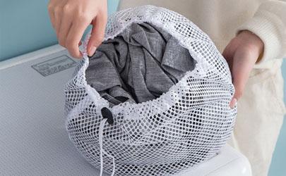 手洗的衣服能套洗衣袋洗嗎