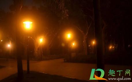義烏晚上路燈怎么全滅了3