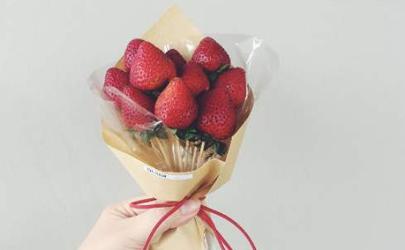 草莓花束可以送男朋友吗