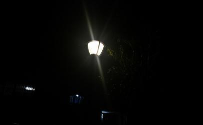 义乌晚上路灯怎么全灭了