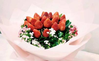 草莓花束的草莓可以吃吗