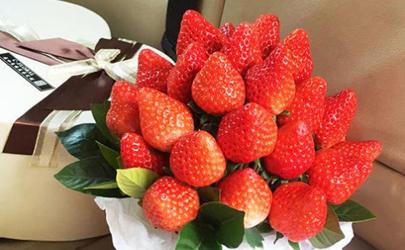 草莓花束一般多少颗送闺蜜