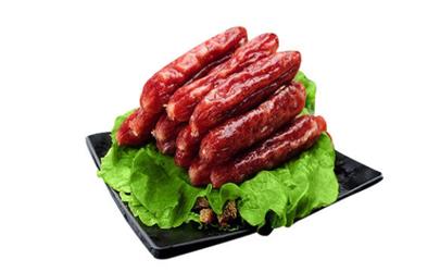 灌香腸肉切成什么形狀
