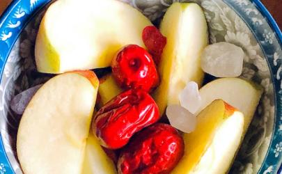 山楂苹果红枣煮水喝可以治积食吗