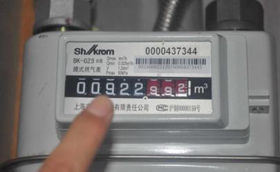 天然气表换电池后显示阀门关有危险吗
