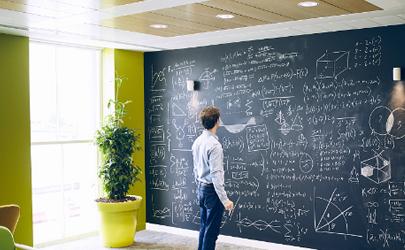 黑板墙贴有甲醛吗