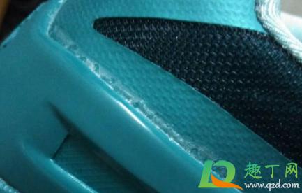 鞋子溢出来胶水怎么处理2