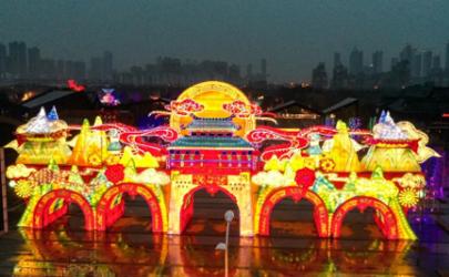 武汉园博园灯会2021年哪个门进