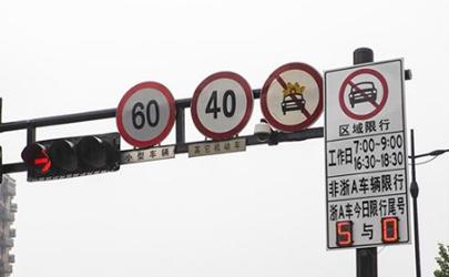 2021杭州限行外地车怎么开