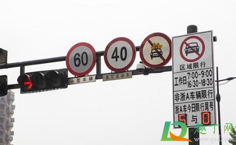 2021杭州限行外地车怎么开1