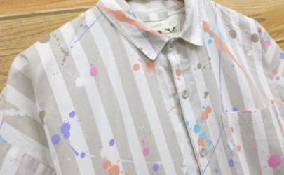 白色衬衫弄到油漆怎么办