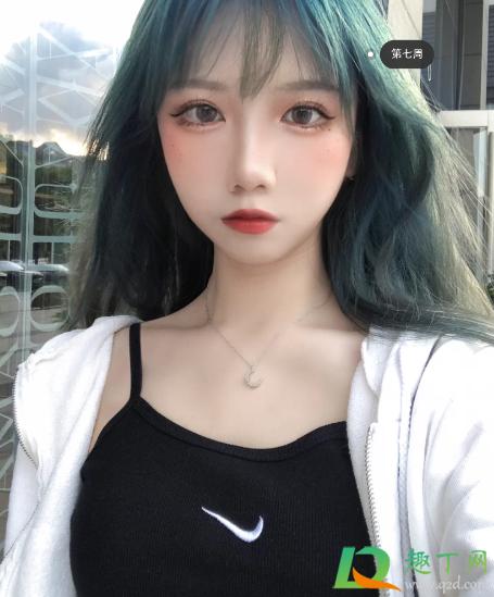 蓝黑色头发掉色过程插图5