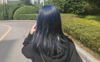 染完蓝黑色太丑了怎么换别的颜色