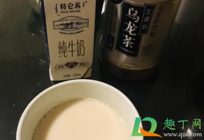纯牛奶加乌龙茶能做出奶茶吗插图