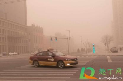 2021年沙尘暴从哪刮来的