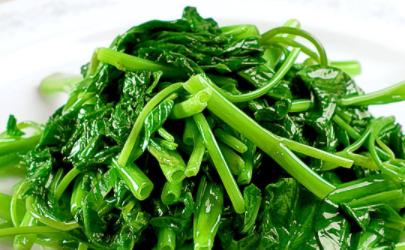 空心菜吃多会抽筋说法是真的吗