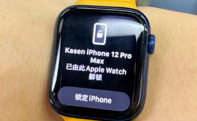 Apple Watch怎么戴口罩解锁iPhone