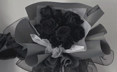 厄瓜多尔黑玫瑰是染色的吗