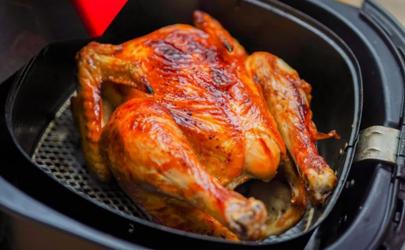 3升的空气炸锅能放下一整只鸡吗