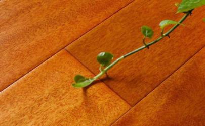 实木地板连接的地方产生缝隙了怎么办