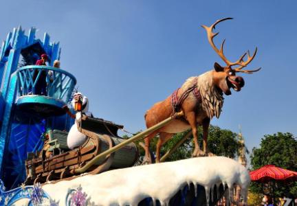 上海迪士尼巡游演出每天都有吗插图1