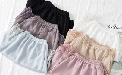 蕾丝安全裤穿着舒服吗