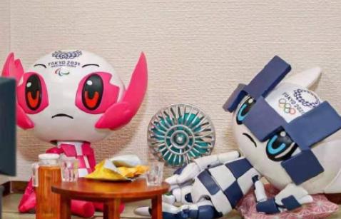 东京奥运会吉祥物合影为什么要收钱2