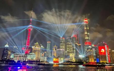 上海国庆灯光秀有几天(上海2021国庆外滩灯光秀几点开始几点结束)