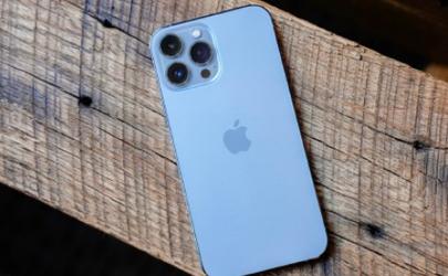 iPhone13pro远峰蓝色好看吗