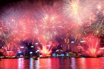 2022年除夕北京哪里看烟花1