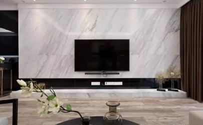 电视墙太难看可以贴墙纸遮挡吗
