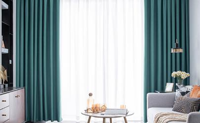 两米宽的窗户买多宽的窗帘