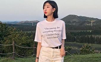 纯白T恤怎么搭配 白色t恤有锈怎么办